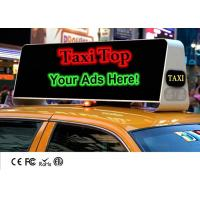 Buy cheap Mobile Outdoor Taxi Top Advertising LED Billboard Display With High Brightness Waterproof from wholesalers