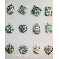Buy cheap paua shell pendant jewellery shell necklace jewelry from wholesalers