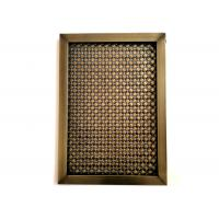 Buy cheap Frame Design Architectural Wire Mesh With Antique Copper Plated Finshed from wholesalers