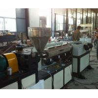 Buy cheap HDPE Electrical Wire Corrugated Plastic Production Line Single Screw from wholesalers