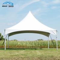 Buy cheap Multipurpose Spring Top Marquee / White High Peak Tent Garden Use from wholesalers