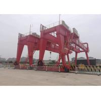 Buy cheap Finework Container Lifting 50 ton Double Girder Gantry Crane for Sale from wholesalers