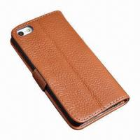 Buy cheap Distinctive Credit Card Slot Leather Case for iPhone 5 from wholesalers