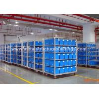 Buy cheap Construction Design Steel Structure Warehouse With Coated Wire Mesh Interior Roof from wholesalers