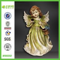 Buy cheap Polyresin Hand Craft Wing Beautiful Resin Pretty Girl from wholesalers