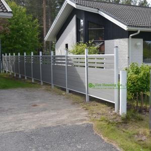 Exterior Semi-Privare Fences, Moden Garden Fencing, Decorative Fencing Boards For Sale Manufactures