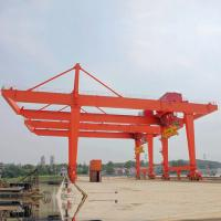 Wholesale Rail Mounted Cantilever Gantry Crane Double Girder Mobile Electric Hoist from china suppliers