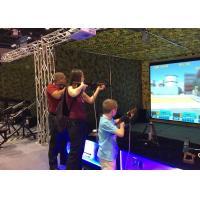 Buy cheap Popular Virtual Reality Motion Simulator , VR Shooting Simulator Arcade Games Machines product