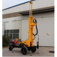 Buy cheap SRXY-130 CORE WATER WELL DRILLING RIG water well drilling trailer shallow well drilling equipment mud rotary drill rig from wholesalers