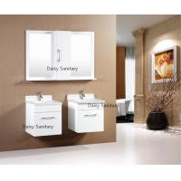 Buy cheap Custom Design Wall Mount Bathroom Vanity High Moisture Resistant For Normal Washing from wholesalers