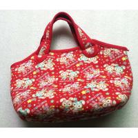 Wholesale Kids Foldable Neoprene Shopping Bag Durable Zip With Lovely Pattern Jeans from china suppliers
