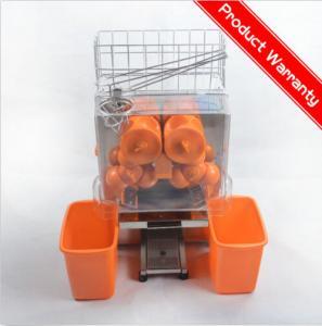 Large Stainless Steel Orange Juicer Machine Bar Auto Orange Press Juicers