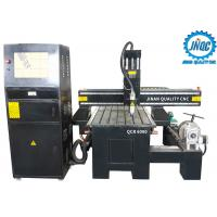 Buy cheap Longlife Durable Cnc Wood Router Carving Machine 4 Axis 6090 With Rotary from wholesalers