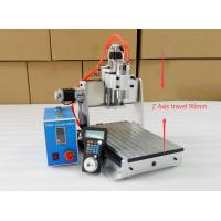 Buy cheap 1.5KW Spindle Mini CNC Router Table Top , Z Axis CNC Router Machine from wholesalers