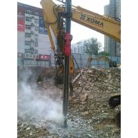 Buy cheap Excavator Mounted Hard 12 M Rock Drilling Rig from wholesalers