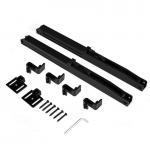 Buy cheap Plastic black 80kg 85mm hardware for doors cabinet door soft closer home door accessories mechanical damper from wholesalers
