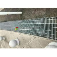 Buy cheap Galvanized Pedestrian Grating Trench Grate , Drain  Cover for Drainage System from wholesalers