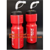 Buy cheap 500ml BPA Free TPU Plastic Collapsible Foldable Soft Flask Sports Running Bicycle Water Bottle with Straw from wholesalers