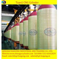 Buy cheap Reliable China Supplier Stainless CNG Storage Cascada Composite CNG Cylinder from wholesalers
