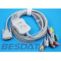Buy cheap 10 Leads ECG EKG Cable IEC Needle / Clip / Banana Electrode Compatible BJ-901D from wholesalers