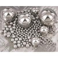 Buy cheap Carbon Steel Hard Solid Steel Ball Customized Dimension For Precision Bearings from wholesalers