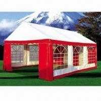 Buy cheap Canopy Tent, Made of Galvanized Steel Tube, PVC Cover and Sidewall from wholesalers