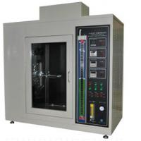 Wholesale IEC60695-11-3 / UL94 Horizontal Vertical Flammability Testing Equipment 128 Kg For Plastics from china suppliers