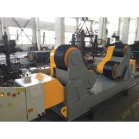Pressure Vessels Pipe Welding Rotators / Stand Roller With Wireless Hand Control Box Manufactures