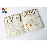 Cartoon Custom Book Printing Services , Children Perfect Bound Book Printing