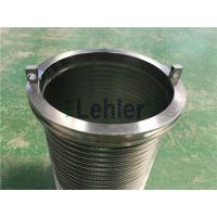 Wholesale WWE-178 Wedge Wire Filter Elements Long Slit High Flow Rate ISO Certification from china suppliers