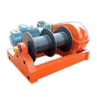 China Fast Speed 1 Ton - 10 Ton Electric Wire Rope Winch  , Winding Engine JKD Series on sale
