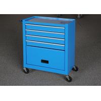 Buy cheap Blue Color 24 Inch Mechanic Tool Cabinet On Wheels With Door For Security from wholesalers