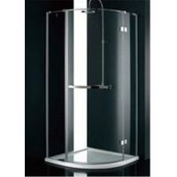 Buy cheap Stainless Steel Frame Glass Bathroom Shower Enclosures , B&Q Shower Cubicles For Home from wholesalers