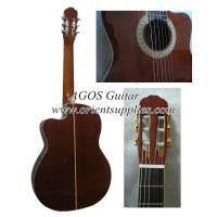 Wholesale 39inch Cutaway Whole Sapele Classical guitar CG3923C from china suppliers