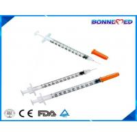 China BM-4003 Medical Sterile Disposable Insulin Syringe u100 u50 u30 for Diabetes Made in China Cheap Price on sale