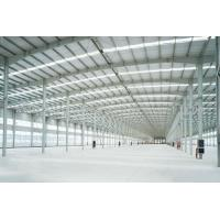 Buy cheap Welded Prefab Steel Structures With Stainless Steel Windows H Section from wholesalers