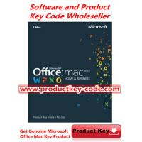 Microsoft Office Product Key Codes, Microsoft Office For Mac 2011 Home and Business FPP ESD Key Code Manufactures
