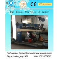 Buy cheap Manual Automatic Cartoning Machine , Box Production Single And Double Nails Forms from wholesalers