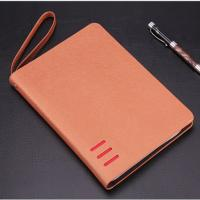 Buy cheap Total 80 Sheets 6 Ring Zipper Binder , Personal Leather Notepad Binder For Business People from wholesalers