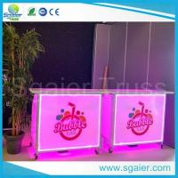 Buy cheap Acrylic Led Commercial Portable Bar , High Strength Portable Breakfast Bar from wholesalers