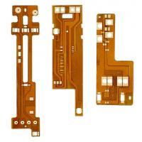 Buy cheap Polyimide Copper Flexible PCB Board 1 OZ , Immersion Gold Printed Circuit Boards from wholesalers