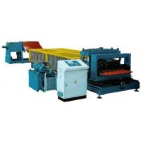 Buy cheap Step Glazed tile roll forming machine from wholesalers