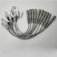 Buy cheap Latex Free Banana To Grabber 10 Leads EKG Adapter Cable from wholesalers