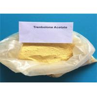 Buy cheap Top sell Yellow Steroid Powder Trenbolone Acetate Tren Acetate CAS 10161-34-9 for Bodybuilding from wholesalers