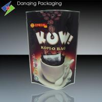 Wholesale Resealable 50g Stand up Pouches, Three Side Seal Bags For Coffee Packaging from china suppliers