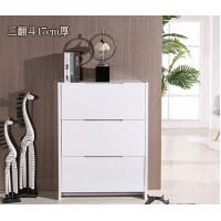 Buy cheap Factory wholesale 3171 ultra-thin minimalist modern white paint tipping shoe storage cabinet dust foyer from wholesalers