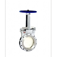 Buy cheap OEM Material Conveying 2'' 0.35MPa Slide Gate Valve from wholesalers
