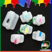 Wholesale refillable ink cartridge for HP801 with 6 color cartridge chip from china suppliers