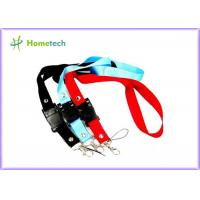 Buy cheap High quality gifts promotional printed lanyard neck strap USB flash drive for factory workers from wholesalers