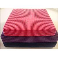 Buy cheap 8w Cotton Corduroy Fabric For Clothes , Plain Dyed Organic Corduroy Fabric from wholesalers